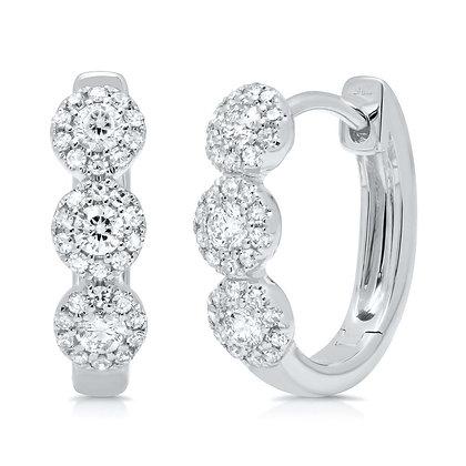Eden Diamond Huggie Earring