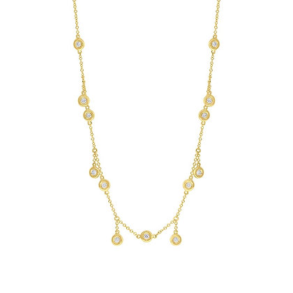 Diamond Shaker Necklace