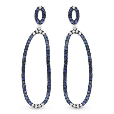 Ombre Sapphire Earring