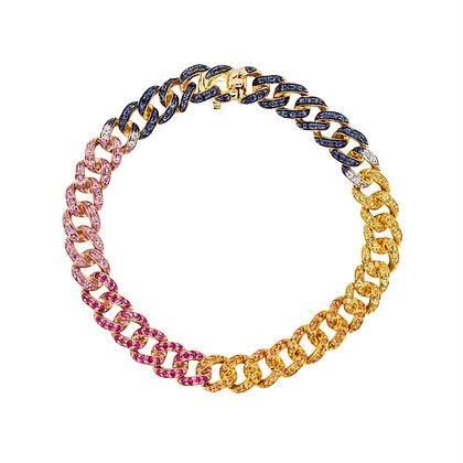 Rainbow Link Bracelet