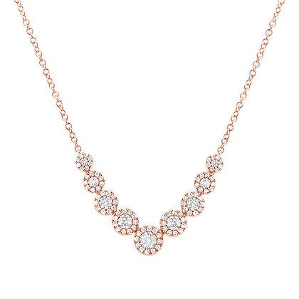 Graduated Diamond Eden Necklace