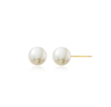 4.5mm Pearl Stud Earring