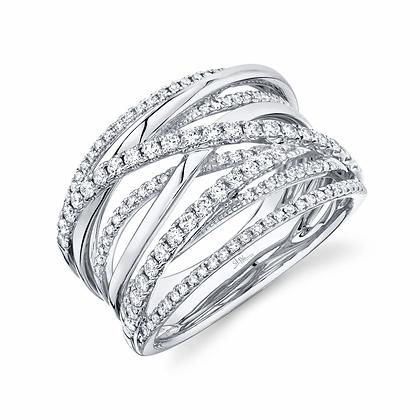 0.62 Diamond Bridge Ring