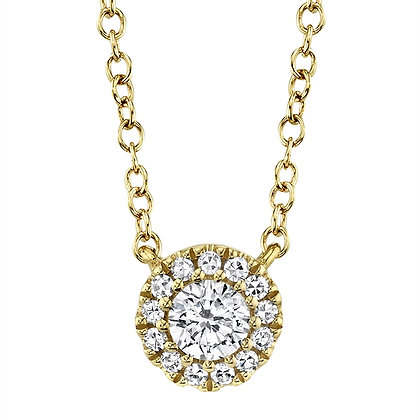 Eden Solitaire Necklace