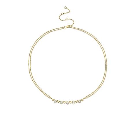 Double Chain Eden Necklace