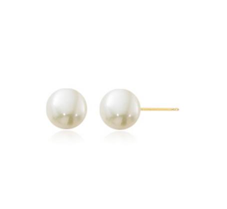 5-5.25mm Pearl Stud Earring