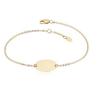 Oval Disc Bracelet