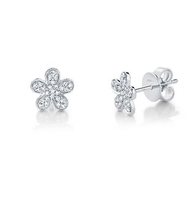 Petite Flower Stud Earring