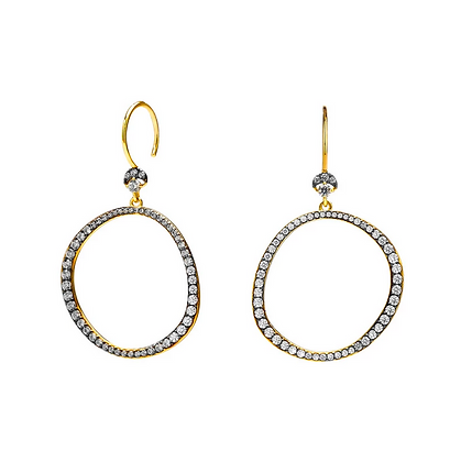 Villa Frontal Hoop Wire Earring