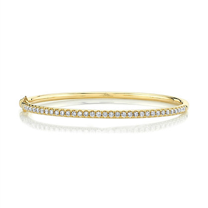0.88CT Classic Diamond Bangle