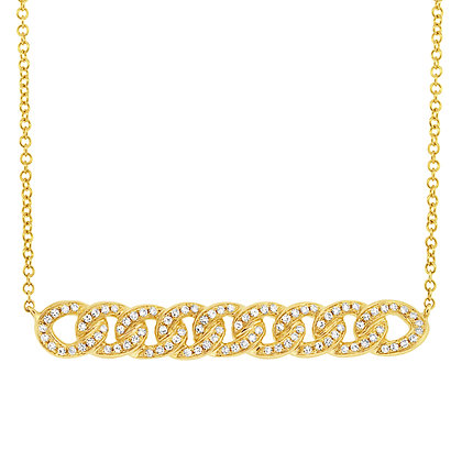 Chain Bar Necklace