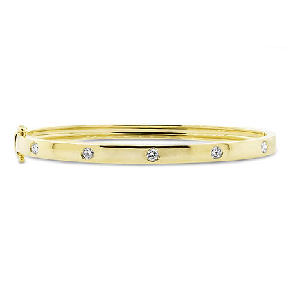 Diamond Stud Bangle