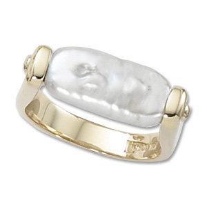 Capsule Pearl Ring