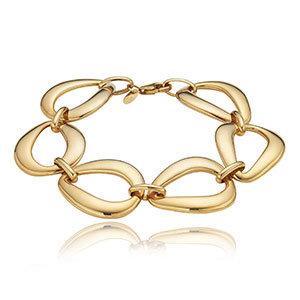 Pear Shape Link Bracelet