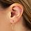 Thumbnail: Simple Star Earring