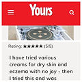 Yours Magazine XO Balm Review