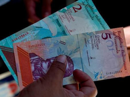 Venezuela slashes 5 zero from its currency.