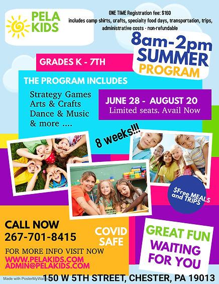 Copy of kids summer camp summer camp hol