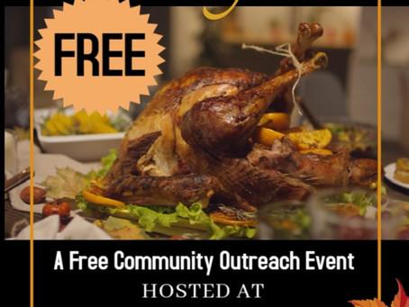 Free Thanksgiving Dinner!