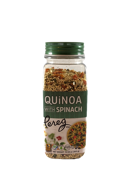 Quinoa with Spinach