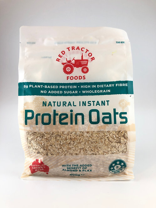 Red Tractor Protein Oats