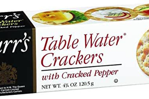 Carr's Crackers with cracked pepper