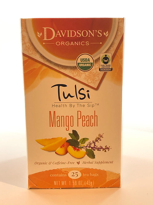 Tulsi Mango Peach Tea
