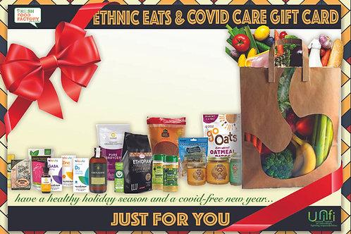 Ethnic Eats/Covid-Care Gift Card