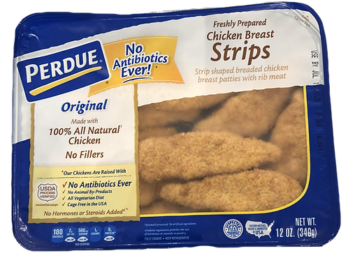 Perdure Natural Chicken Breast Strips