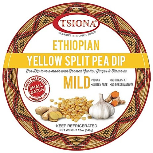 Mild Yellow Split Pea Dip