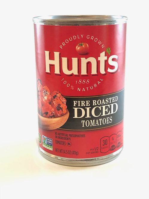 Hunts Fire Roasted Diced Tomatoes