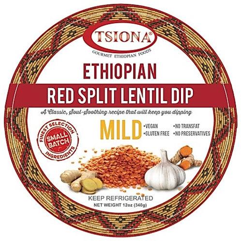 Mild Red Split Lentil Dip
