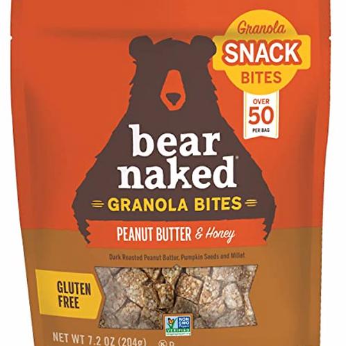 5 of Bear Naked Peanut Butter & Honey Granola Bites