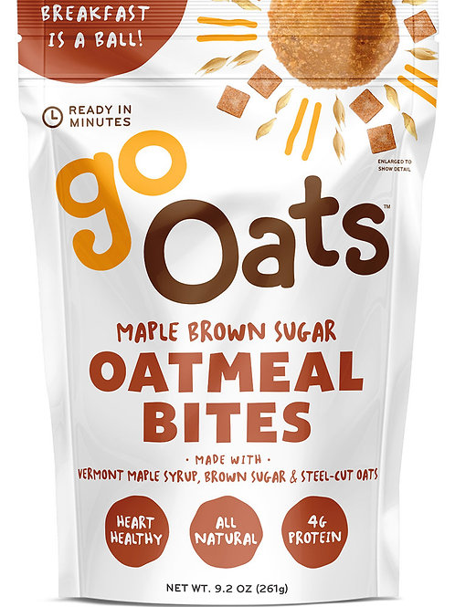 Maple Brown Sugar Oatmeal Bites