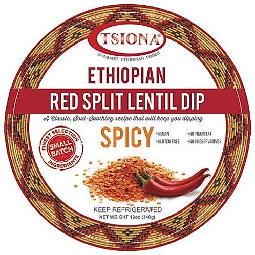 Spicy Red Split Lentil Dip