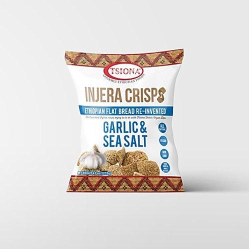 Garlic & Sea Salt Injera Crisps