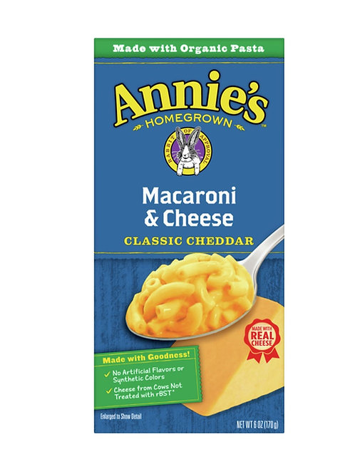 Annie's Macaroni & Cheese, Classic Cheddar
