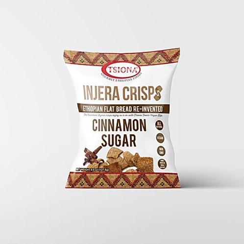 Cinnamon Sugar Injera Crisps