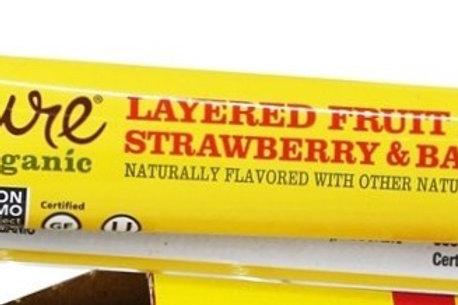 Strawberry Banana Fruit Bar