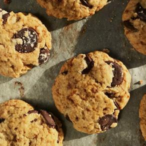 home made goûter : les vegan cookies au chocolat