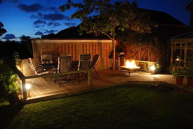 Backyard Wood Decking