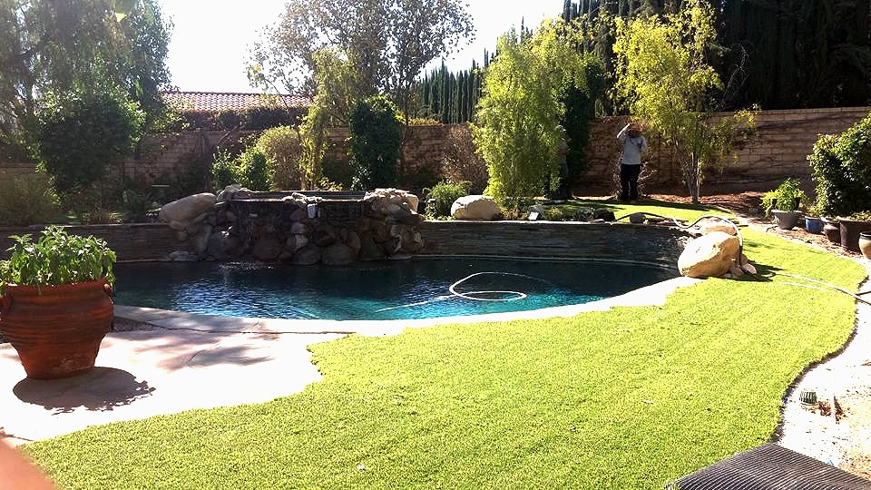 Creative Landscape Design and Build by Alonso Landscape Care.