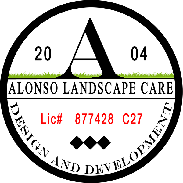 GS1603 Alonso's Landscape Care, Logo 03.