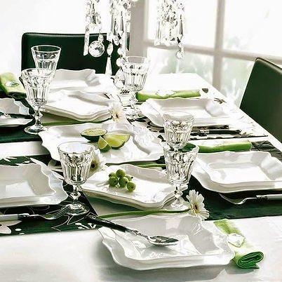 Interior Design Color Green Dining Table