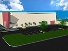 Architectural Rendering Warehouse Building Design