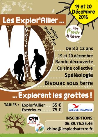 Mini-Séjour Spéléo le 19 & 20 décembre !