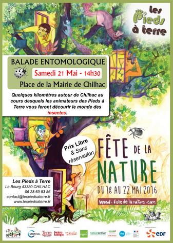 Balade entomologique - Samedi 21 Mai - Chilhac