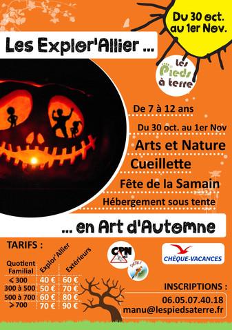 Mini-Séjour Art d'Automne du 30 Oct. au 1er Nov.
