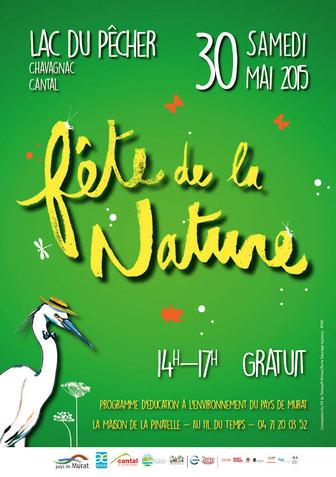 Fête de la Nature au lac du pécher dans le Cantal !