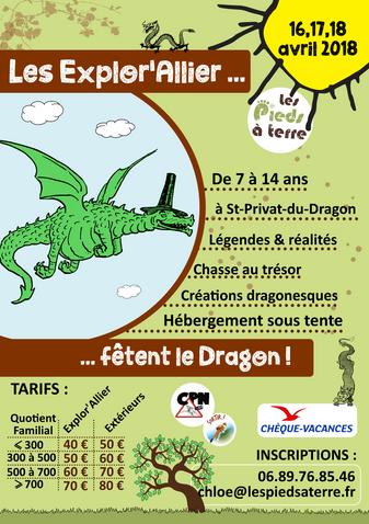 Mini-Séjour Dragon le 16,17 et 18 Avril !